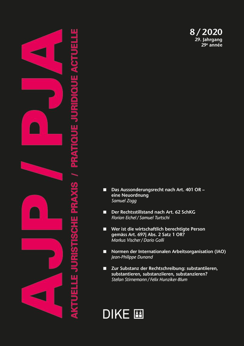 AJP/PJA 8/2020