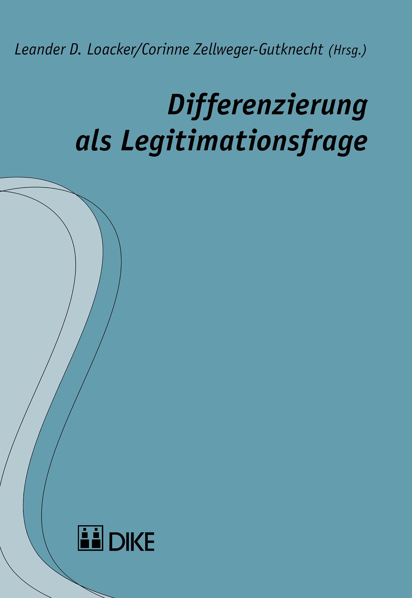 Differenzierung  als Legitimationsfrage