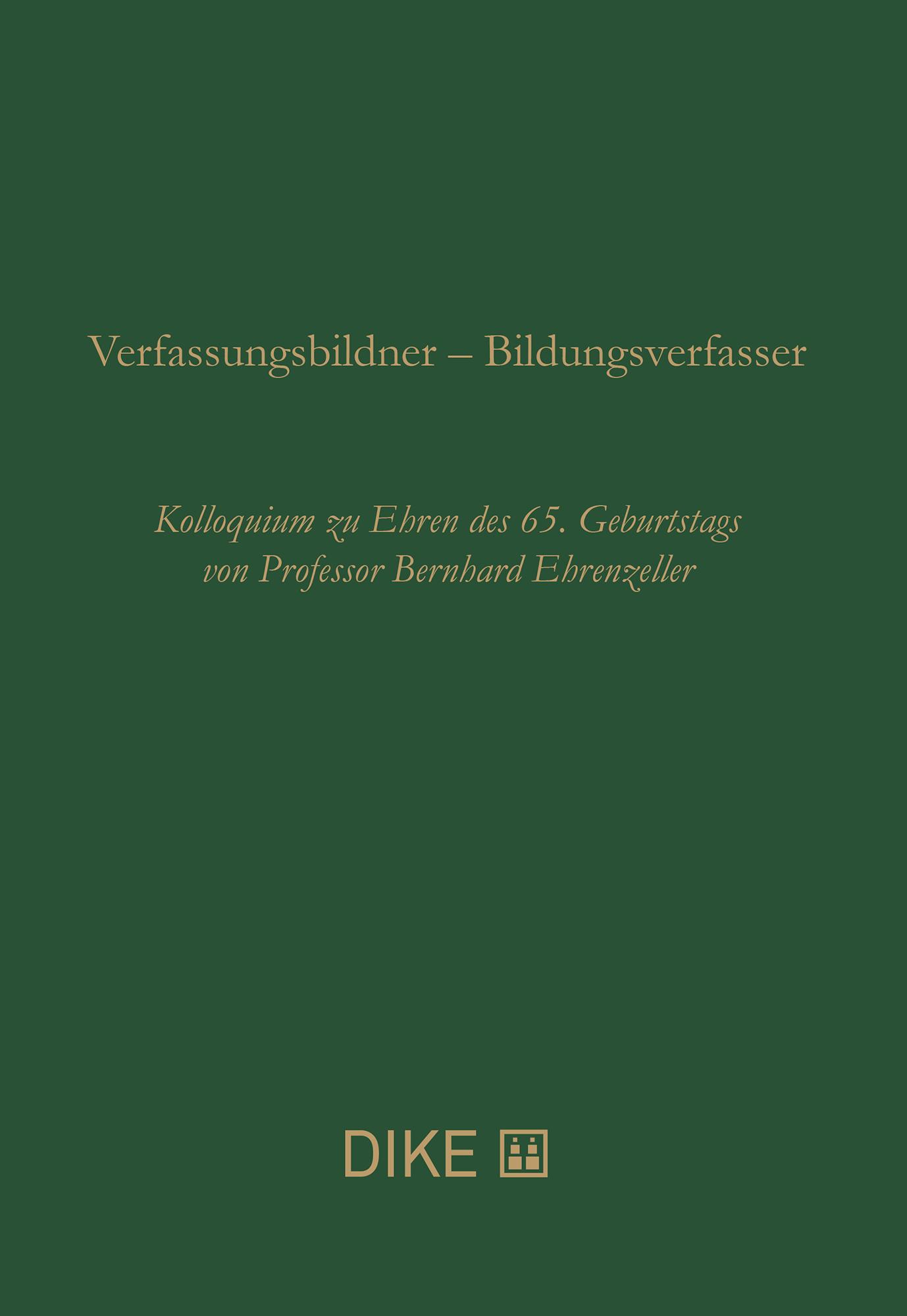 Verfassungsbildner – Bildungsverfasser
