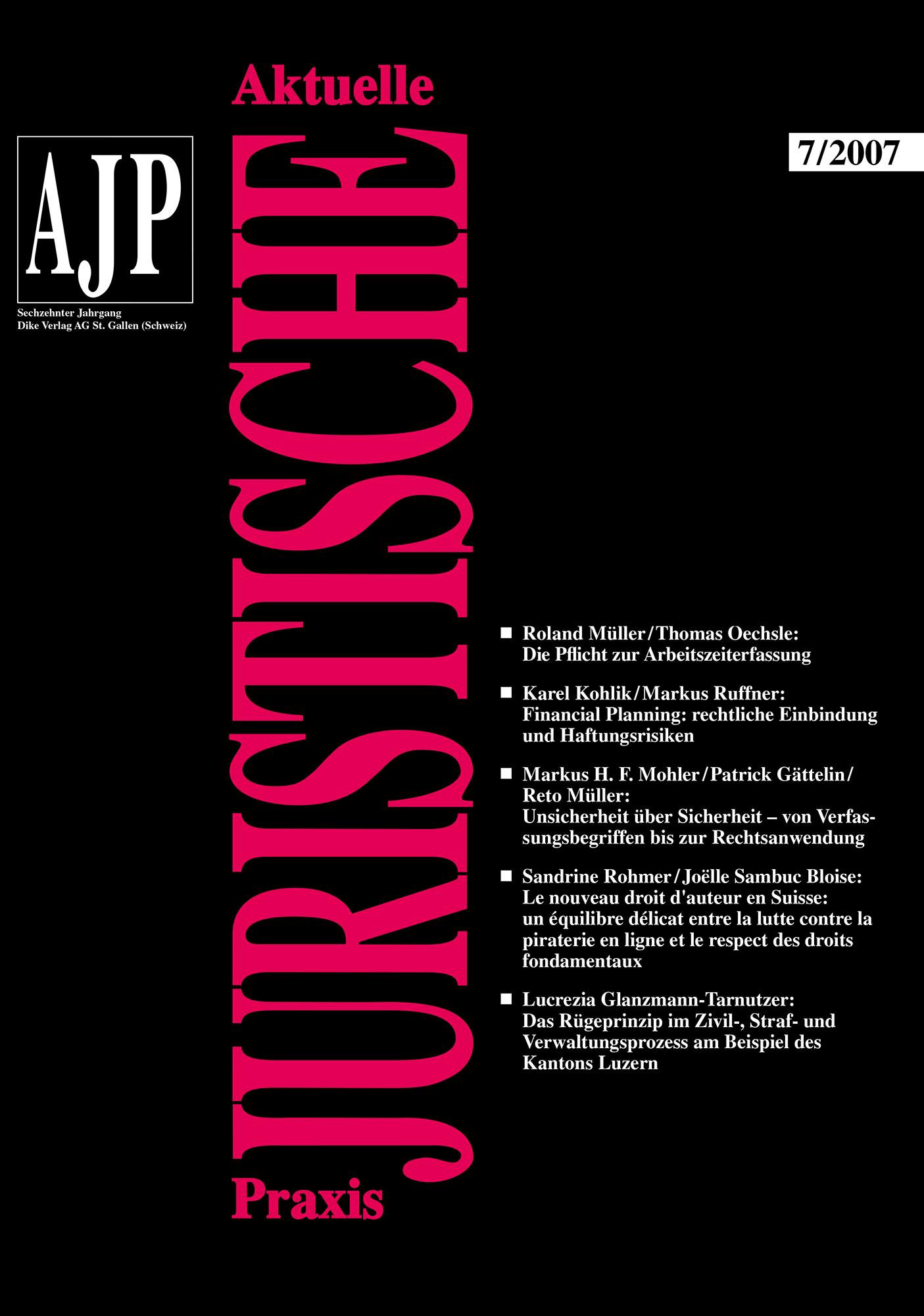 AJP/PJA 07/2007