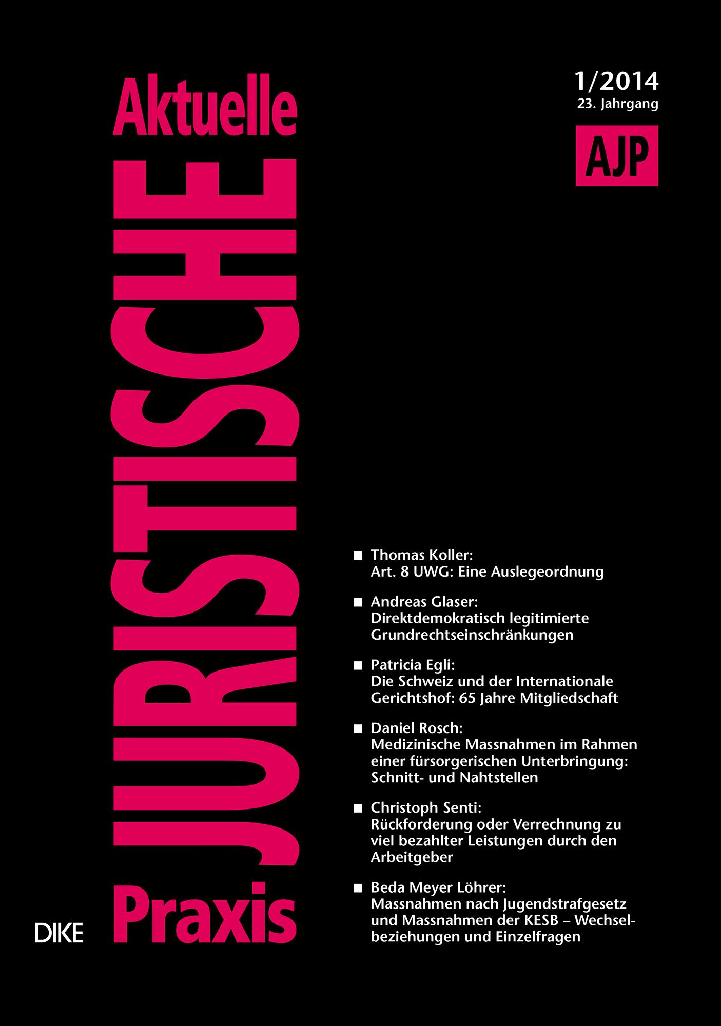 AJP/PJA 01/2014