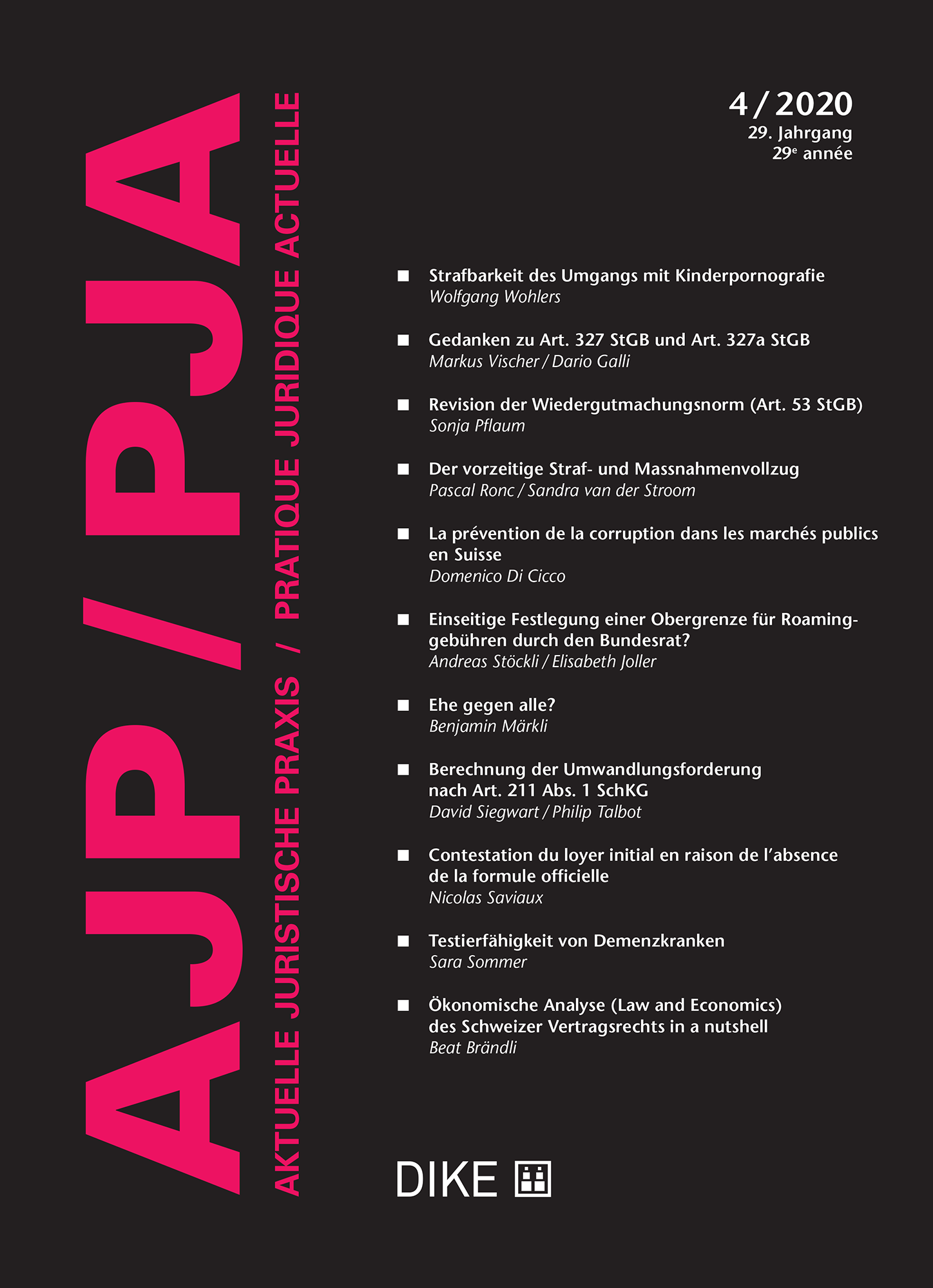 AJP/PJA 4/2020