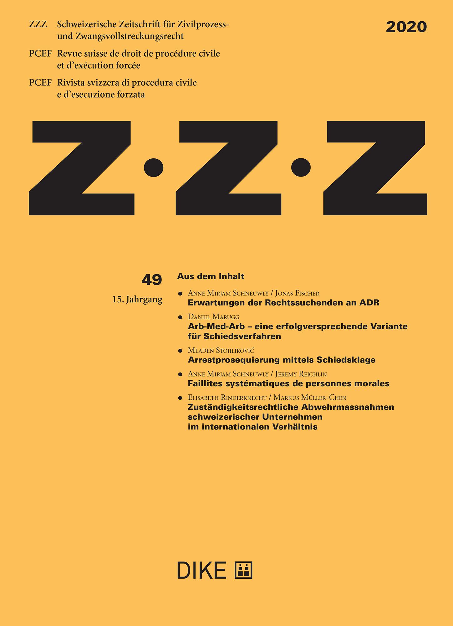 ZZZ 2020 Heft 49