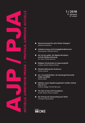 AJP/PJA 1/2018