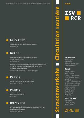 Strassenverkehr / Circulation routière 3/2020