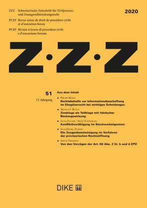 ZZZ 2020 Heft 51