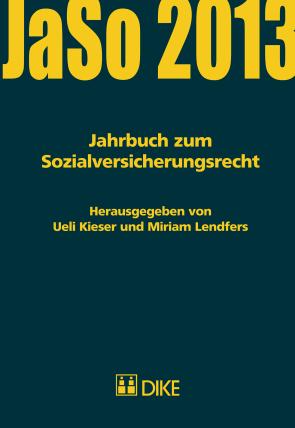 Jahrbuch zum Sozialversicherungsrecht 2013