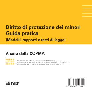 COPMA Diritto di protezione dei minori. Guida pratica (solo CD)