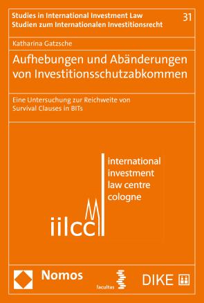 Aufhebungen und Abänderungen von Investitionsschutzabkommen