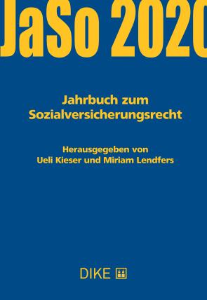 Jahrbuch zum Sozialversicherungsrecht 2020