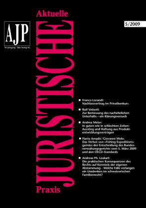 AJP/PJA 05/2009