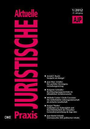 AJP/PJA 01/2012