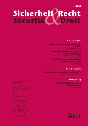 Sicherheit & Recht / Sécurité & Droit 01/2012