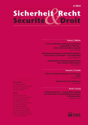 Sicherheit & Recht / Sécurité & Droit 02/2012