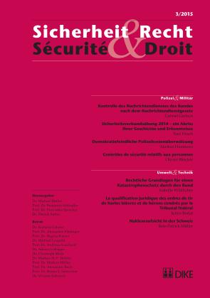 Sicherheit & Recht / Sécurité & Droit 03/2015