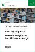 BVG-Tagung 2015