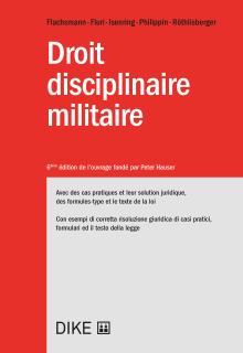 Droit disciplinaire militaire