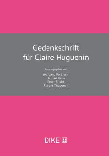 Gedenkschrift für Claire Huguenin